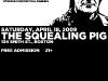 Voda at the Squealing Pig, April 18, 2009